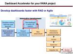 dashboard accelerator for your hana project1