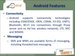 android features1