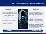 the evolving information security organization2