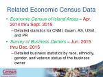 related economic census data