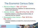 the economic census data