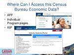 where can i access this census bureau economic data