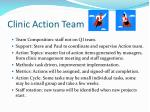 clinic action team