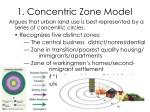 1 concentric zone model