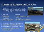 statewide modernization plan