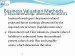 business valuation methods1
