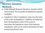 business valuation methods4