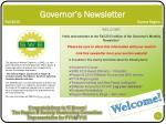 governor s newsletter fall 2013 sonora region