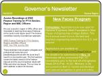 governor s newsletter fall 2013 sonora region5