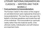 literary nationalism american classics writers and their works 2