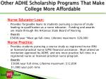 other adhe scholarship programs that make college more affordable1