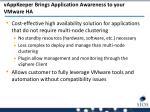 vappkeeper brings application awareness to your vmware ha