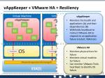 vappkeeper vmware ha resiliency