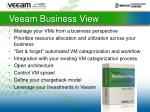 veeam business view