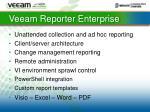 veeam reporter enterprise