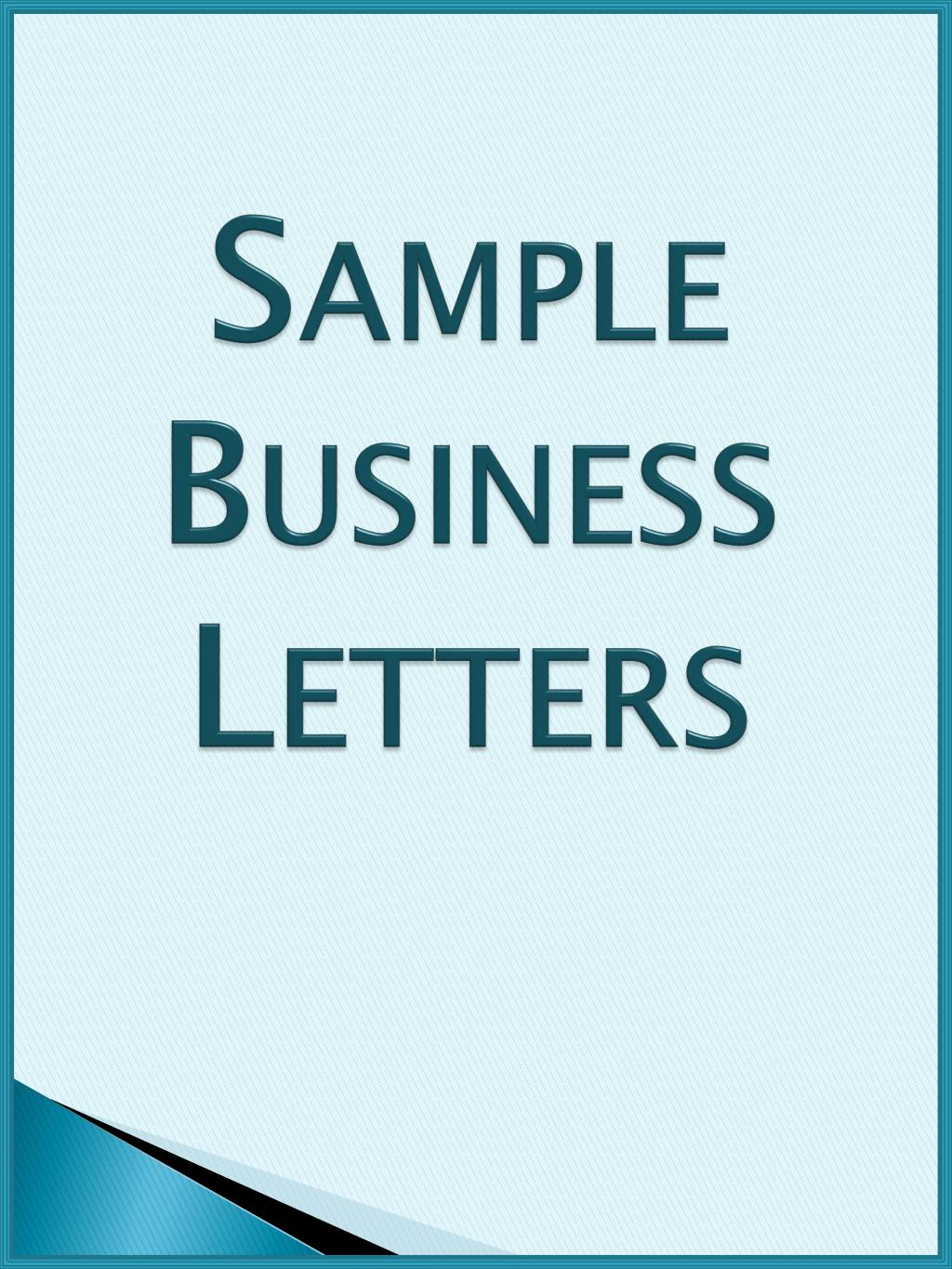 ppt sample business letters powerpoint presentation id 1654753