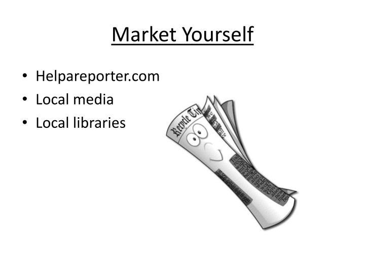 Market Yourself