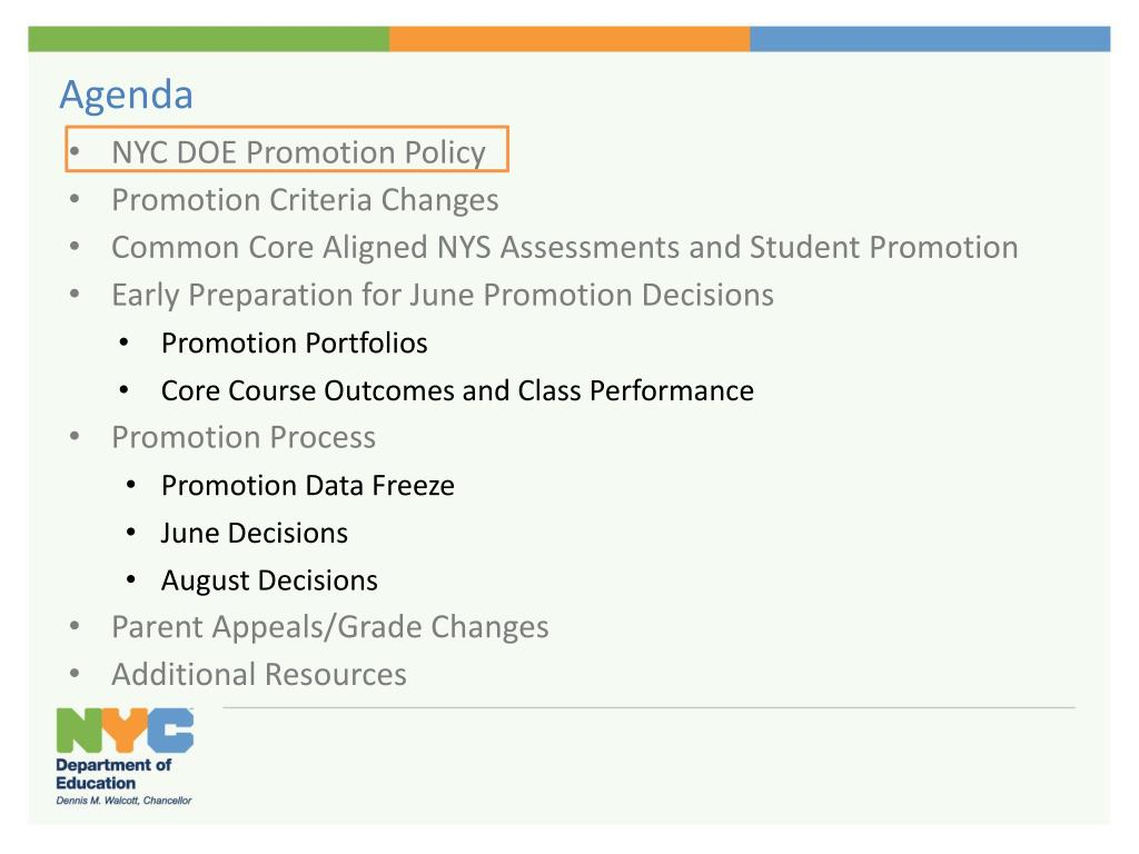 PPT - Promotion: Policy and Process Overview April 2013