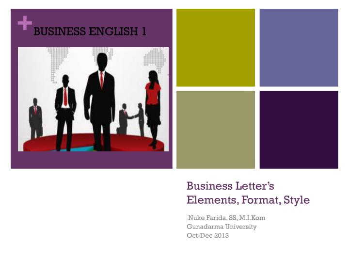 business letter s elements format style n.