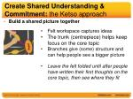 create shared understanding commitment the ketso approach