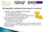demographics immigrant communities in louisiana