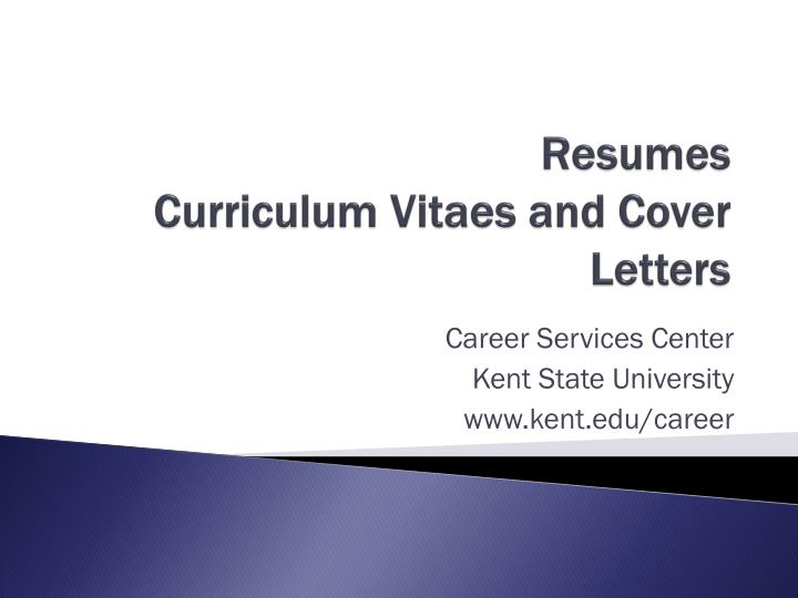 ppt resumes curriculum vitaes and cover letters powerpoint