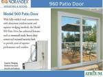 960 patio door
