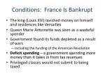 conditions france is bankrupt