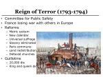 reign of terror 1793 1794