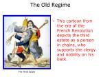 the old regime