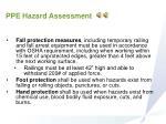 ppe hazard assessment1