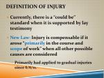 definition of injury