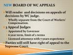 new board of wc appeals