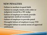 new penalties