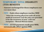 temporary total disability ttd benefits