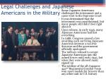 legal challenges and japanese americans in the military