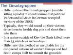 the einsatzgruppen