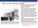 war in the soviet union