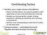 contributing factors1
