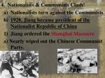 4 nationalists communists clash