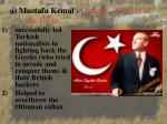 a mustafa kemal ataturk father of the turks