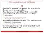 cyber security framework self healing