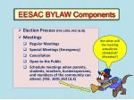 eesac bylaw components