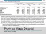 provincial waste disposal1