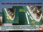 how will the groins affect the ebb shoal in bsp