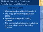 tmu 09 sec 04 customer satisfaction and retention