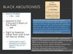 black abolitionists