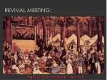 revival meeting