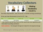 vocabulary collectors11