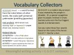 vocabulary collectors2